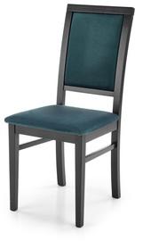 Ēdamistabas krēsls Halmar Sylwek 1, zaļa