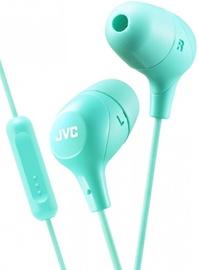 Наушники JVC HA-FX38M in-ear, зеленый