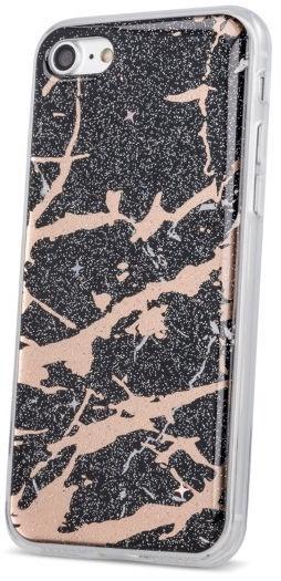 TakeMe Marmur Shine Back Case For Samsung Galaxy A7 A750 Black