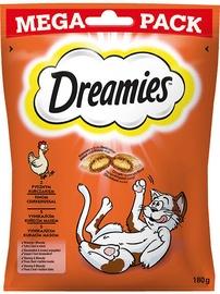 Лакомство для кошек Dreamies, чипсы, печенье, 0.18 кг