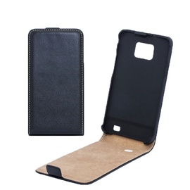 Forcell Slim Flip for Sony Xperia P LT22i Vertical Book Case Black