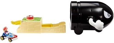 Automašīnu trase Mattel Hot Wheels Mario Kart Bullet Bill Launcher & Mario Kart Vehicle GKY54