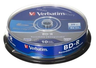Verbatim BD-R 25GB 6x 10pcs