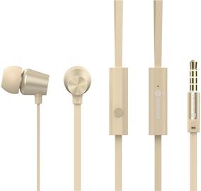 Austiņas Swissten YS500 In-Ear Gold