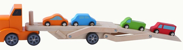 Gerardos Toys Wooden Trailer 39266