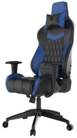 Spēļu krēsls Gamdias Achilles E2-L, zila/melna