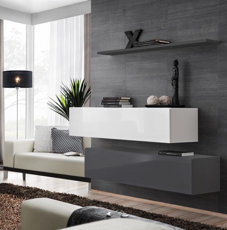 ASM Switch SB II Hanging Cabinet/Shelf Set Graphite/White