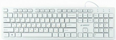 Gembird KB-MCH-03 Multimedia Keyboard RUS White