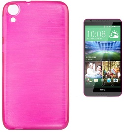 Forcell Jelly Brush Back Case For HTC Desire 820 Pink