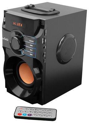 Bezvadu skaļrunis UGO Soundcube, melna, 10 W
