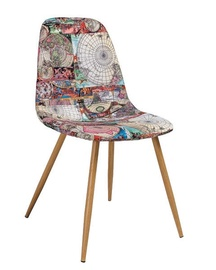 Ēdamistabas krēsls Signal Meble Citi Map, 1 gab.