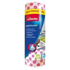 Audums Vileda Light & Soft, 40 gab.