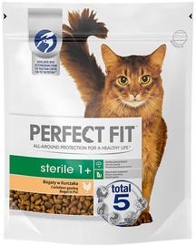 Sausā kaķu barība Perfect Fit Sterile 1+, 0.75 kg
