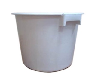 SN Bucket For Food 90l White