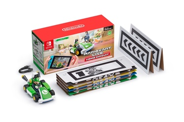 Nintendo Mario Kart Live Home Circuit Luigi Car Play Set