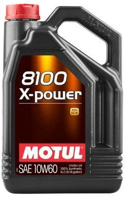 Motul 8100 X-Power 10W60 Motor Oil 5l