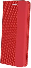 OEM Smart Senso Book Case For Samsung Galaxy A40 Red