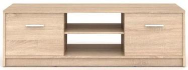 ТВ стол Black Red White Nepo Plus Sonoma Oak, 1385x465x425 мм