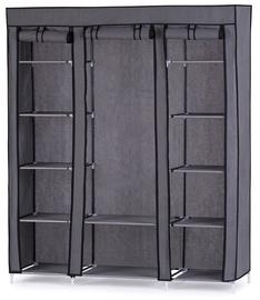 Skapis Homede Bloor, pelēka, 150x45x175 cm