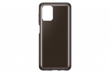 Samsung Soft Clear Back Case For Samsung Galaxy A12 Black