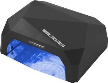 UV LED lampa nagiem Esperanza Onyx EBN002 Black