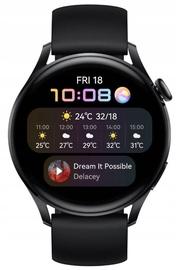 Viedais pulkstenis Huawei Watch 3, melna