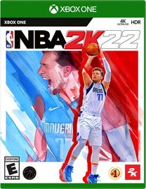 Xbox One spēle 2k Games NBA 2K22