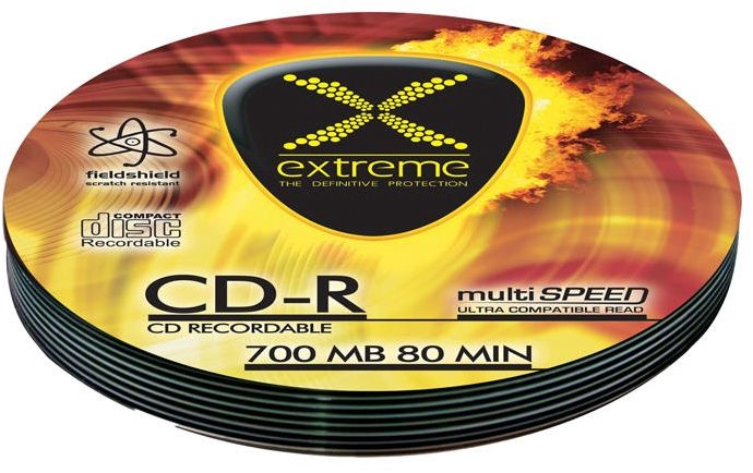 Esperanza 2033 CD-R Extreme 52X 700MB Soft Pack 10