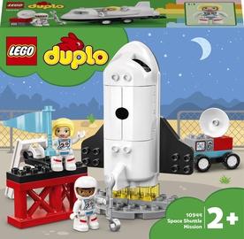 Конструктор LEGO Duplo Экспедиция на шаттле 10944, 23 шт.