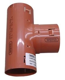 Drenāžas trejgabals Wavin D113mm, 90°, PVC
