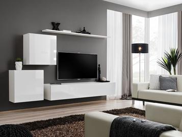 Dzīvojamās istabas mēbeļu komplekts ASM Switch V White