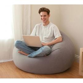 Надувной стул Intex 68579NP, серый, 1040x1070 мм