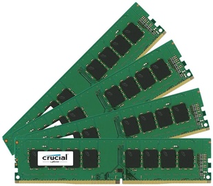 Crucial 64GB 2133MHz DDR4 CL15 DIMM KIT OF 4 CT4K16G4DFD8213