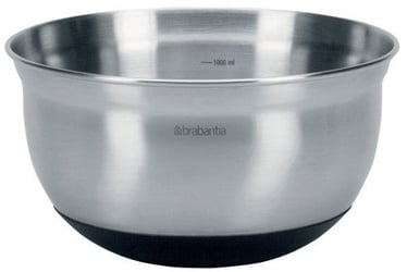 Brabantia Mixing Bowl Matt Steel 1l