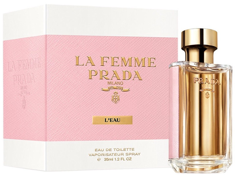 Туалетная вода Prada La Femme L'Eau 35ml EDT