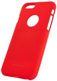 Mercury Soft Surface Matte Back Case For Xiaomi Redmi Note 4/4X Red