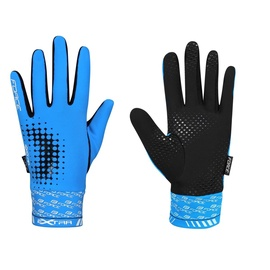 Force Extra 17 Full Gloves Blue/Black S