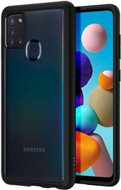 Spigen Ultra Hybrid Back Case For Samsung Galaxy A21s Black