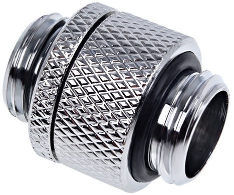 Alphacool Eiszapfen Rotatable Adapter Outer Thread G1/4 Chrome