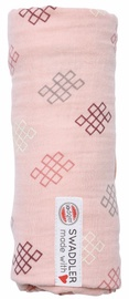 Lodger Xandu Muslin Swaddler 120x120cm Sensitive Knot