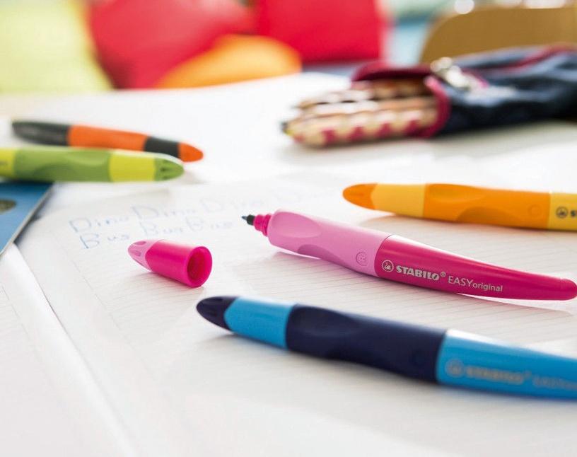 Stabilo Easy Original Right Handed Pen Metallic/Yellow