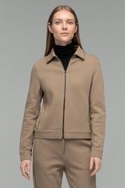 Audimas Zip-Through Sweatshirt 2021-057 Brown L