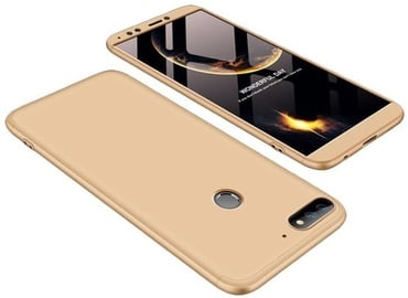 GKK 360 Protection Case For Huawei Y7 Prime 2018 Gold