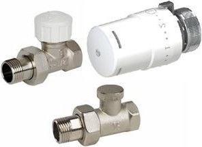 Клапан ARCO Teide Thermostat Radiator Valve Straight Set 1/2''