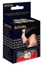 Accura Cartridge For Canon Black 22ml