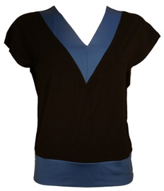 Bars Womens T-Shirt Black/Blue 90 XL