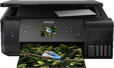 Многофункциональный принтер Epson L7160, струйный, цветной