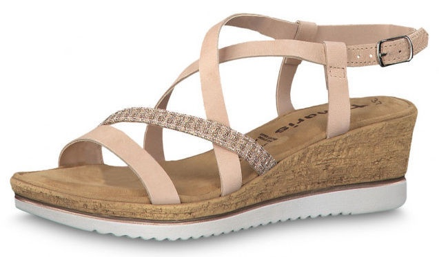 Tamaris Sandal 1-1-28340-22 Rose Metallic 37