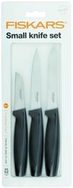 Fiskars Functional Form Small Knife Set 3pcs Black