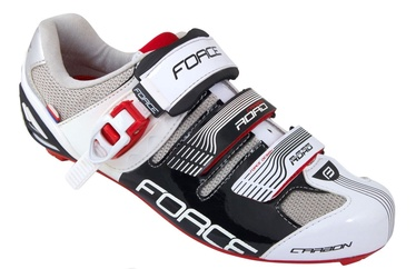 Force Road Carbon Black/White/Red 36